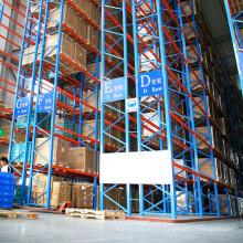 Ahorro de espacio CE Certificado VNA resistente estante de acero