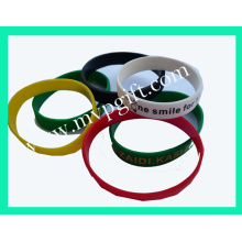 Silicone Bracelet with Glow Functionm-Wb08)