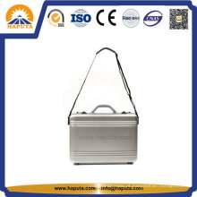 Maleta de alumínio negócios com fechadura de combinação (HL-5218)