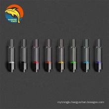 Fast shipping DHL lead free cartridge empty cbd DDP full glass 510 thread cartridges AG03 thick oil 1ml vape cartridge