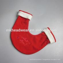 anti-pilling 100% polyester polar fleece christmas lover gloves