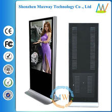 55 inch floor standing HD video gas station advertising