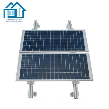 Estructura de montaje de panel solar de PV de acero ajustable