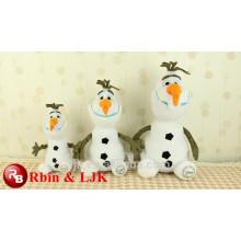 La nueva felpa suave estupenda de la buena calidad de la llegada nueva Olaf congelado