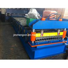 Формовочная машина для производства гофрированных листов плитки