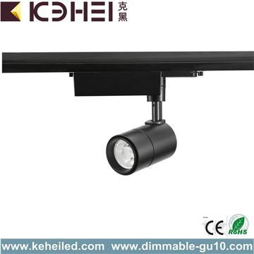 Regulable 12W LED Pista Luces Blanco Negro 4000K