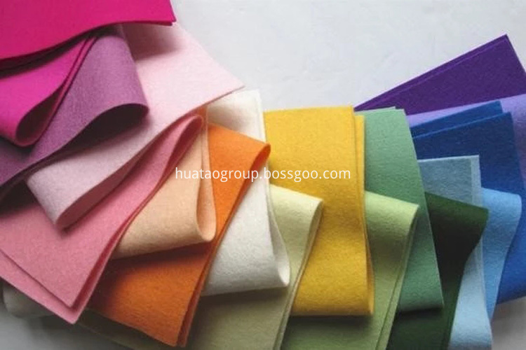 colorful felt