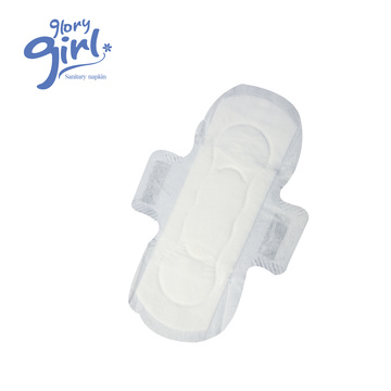 Ultra thin super absorbent high quality breathable unscent sanitary pad without chip