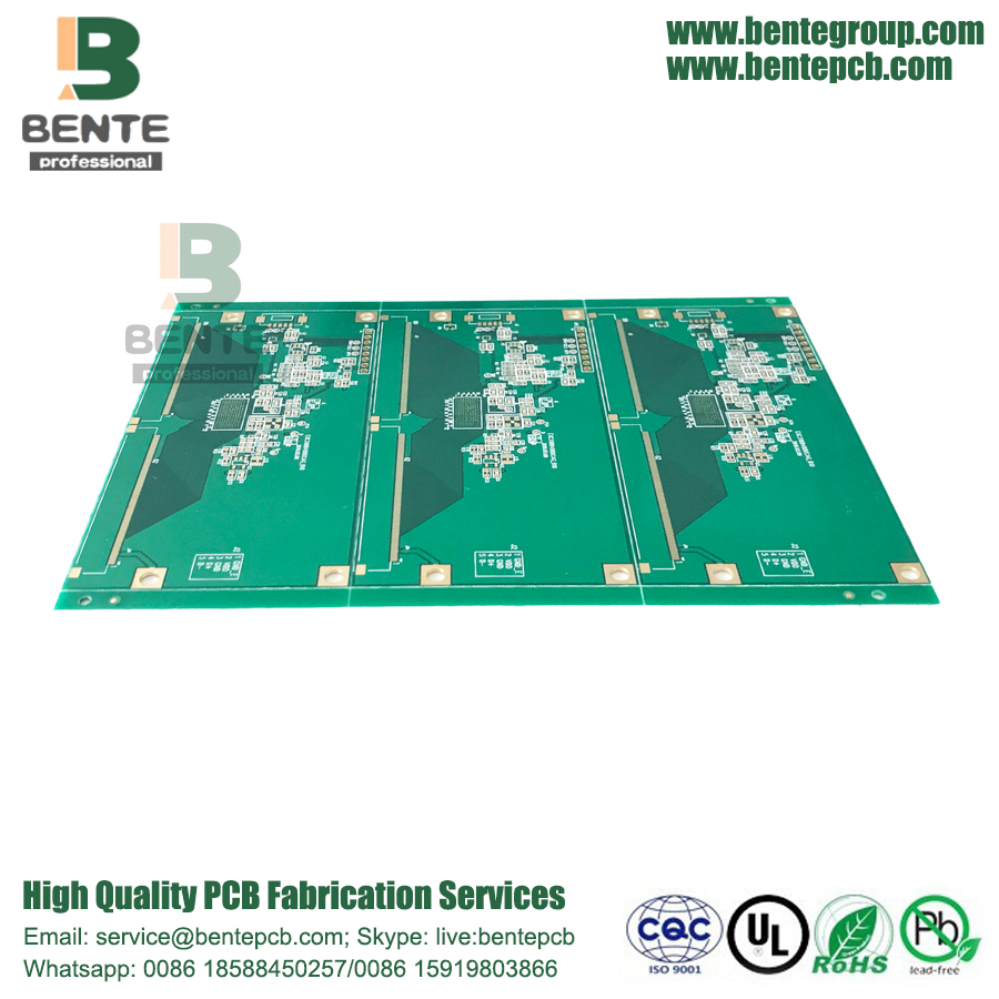 High-precision Multilayer PCB 4 Layers PCB FR4 Tg170 ENIG
