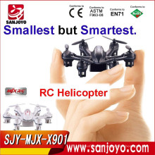 MJX 2.4G mini quadcopter x901 RC helicopter 6-axis hexa copter quadcopter drone Remote Control Helicopter