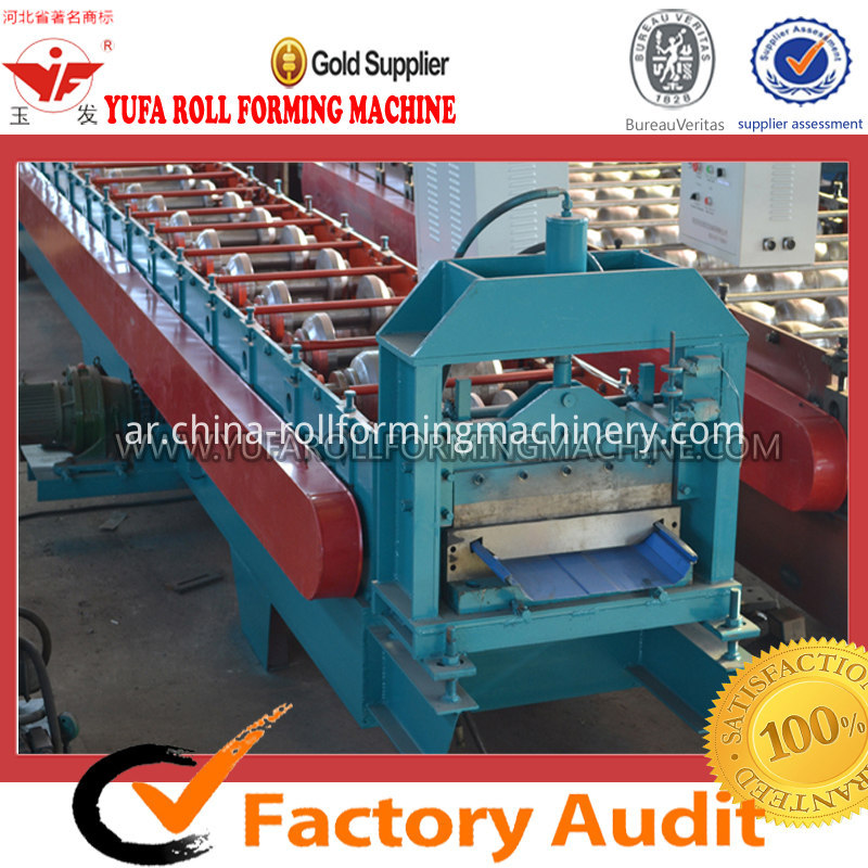 JCX 470 roof panel roll forming machine