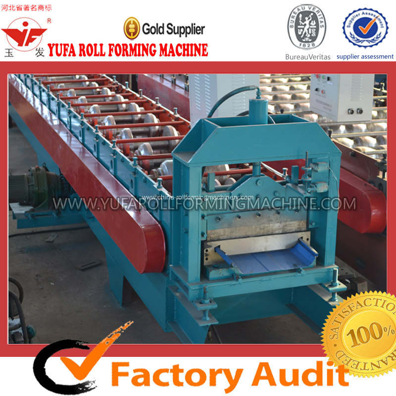 Making Metal Construction Materials Roof Panel Forming Machine