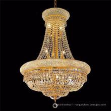 Lustres philippines de luxe en or et lustre en cristal 71024