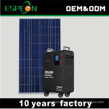 300W 400W 110V 220V output DC to AC all in one solar portable generator