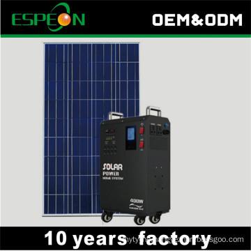 50W 80W 100W 300W 12V to 110V 220V 230V solar power generator complete for home use