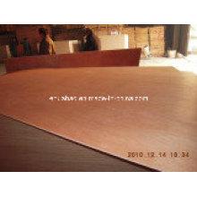 Okoume Plywood Poplar Core WBP Pegamento BB / CC Grado