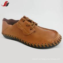 Mais novo homem sapatos de moda casual sapatos de couro