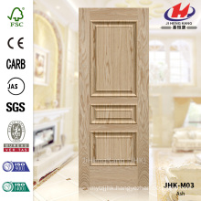 JHK-M03 Specially 2016 Convex Laminate Ash Moulded Veneer Door Skin China Manufacture