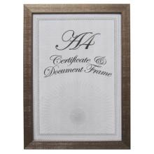 Новый стиль очаровательной пластиковый сертификат и фрейм документа
