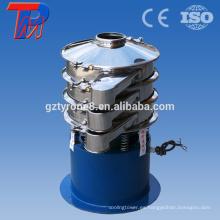 Principio de funcionamiento del polvo de óxido de cinc vibrante tamiz de la máquina