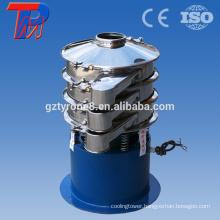 Zinc oxide powder working principle vibrating sieve machine