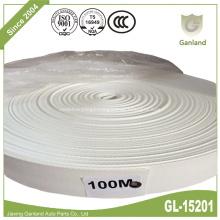 White Polypropylene Webbing Bag Handle Belt Strap 48mm