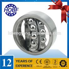 High speed self aligning ball bearing 1215 sinotruk axle parts bearing wg92313