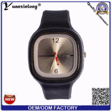 Yxl-999 Mode Genf Unisex Uhr Silikon Quarzuhr Armbanduhren Damen Kleid Marke Uhren Frauen Relogio