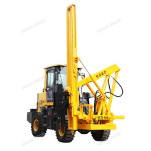 Hydraulic pile drivers high-speed guardrail driving pile driver Pneumatic piling machine for sale