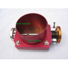 65mm / 70mm / 80mm / 90mm / 100mm Universal Racing Throttle Corpo Alumínio Azul / Vermelho / Prata