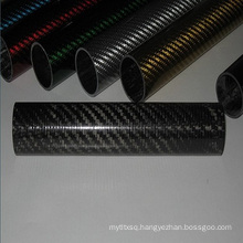 3k twill Carbon Fiber Exhaust pipe