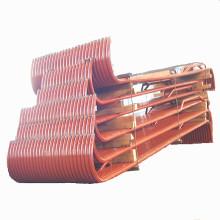 Componentes de la caldera Paneles del tubo del calentador de pared del horno