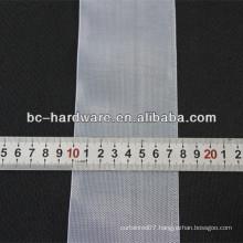 76mm transparent curtain tape,nylon curtain tape