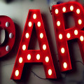 Custom Vintage 3D Marquee Signs