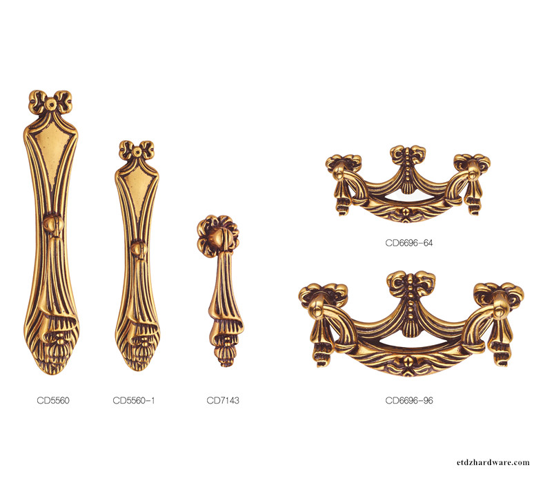 Small Classical Hardware Furniture Cabinet Handle Knobs