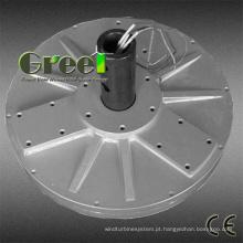 Fluxo axial disco Coreless gerador de ímã permanente de turbina de vento