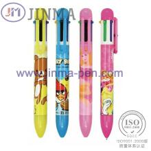 La Promotion cadeaux Aplstic Multi-Color Ball Pen Jm-M014