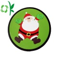 Kerst resistente siliconen Cup Coaster Cup placemat