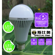 9W Rechargeable Emergency LED Bulb with Backup Battery E27 B22