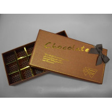 Bespoke Chocolate Box with Paper Divider