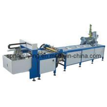 Semi-Auto máquina de fabricação de caixa rígida para venda