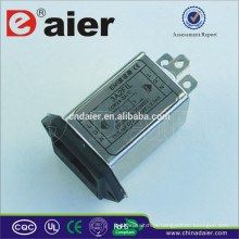 Daier monofásico duas fases Emi Power Line eletromagnética Filter