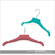 "11"" Rubber Soft Chlidren Baby Plastic Clothes Hangers"