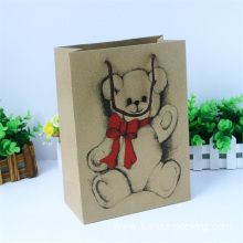 Cute scarf paper bag with custom logo