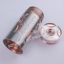 E-Cig parte de cobre e aço inoxidável