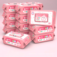 Lingettes biodégradables pour bébé Clean Soften Skin