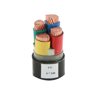 Cu PVC Insulated Sheathed Electrical Power Cables