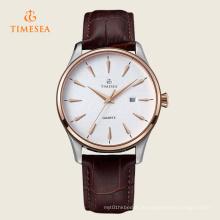 Herrenuhr Auto Datum Quarzwerk Lederband Armbanduhren 72329