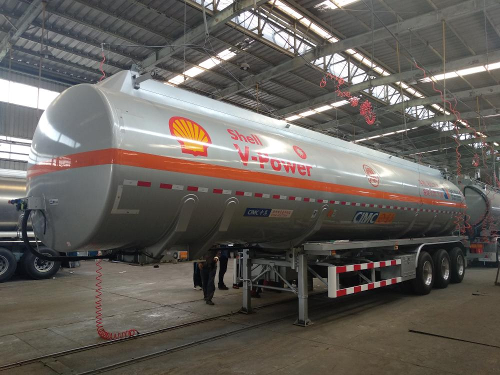 SHELL FEUL TANK SEMI-TRAILER
