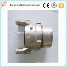 Aluminum guillemin coupling male with latch